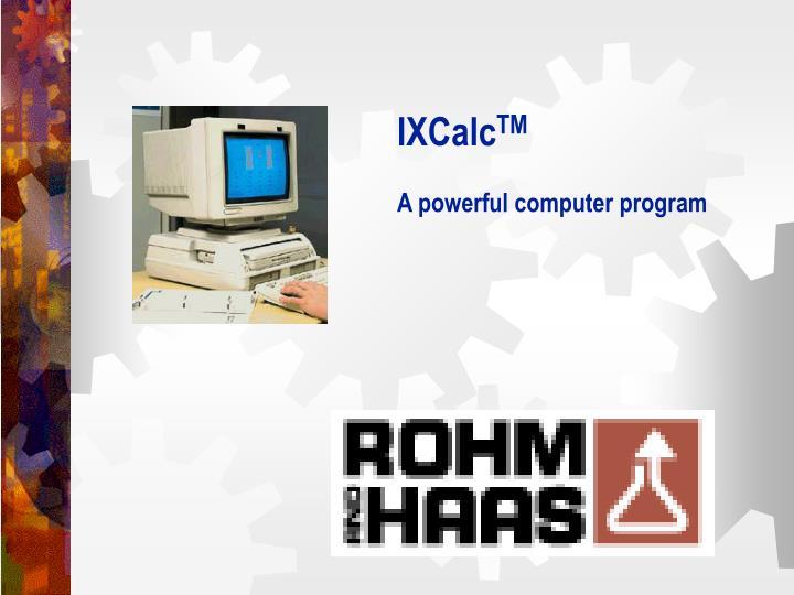 IXCalc