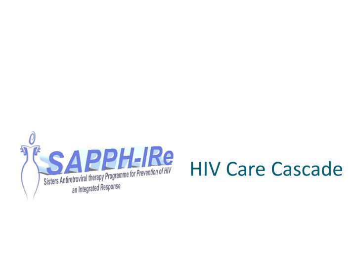 HIV Care Cascade
