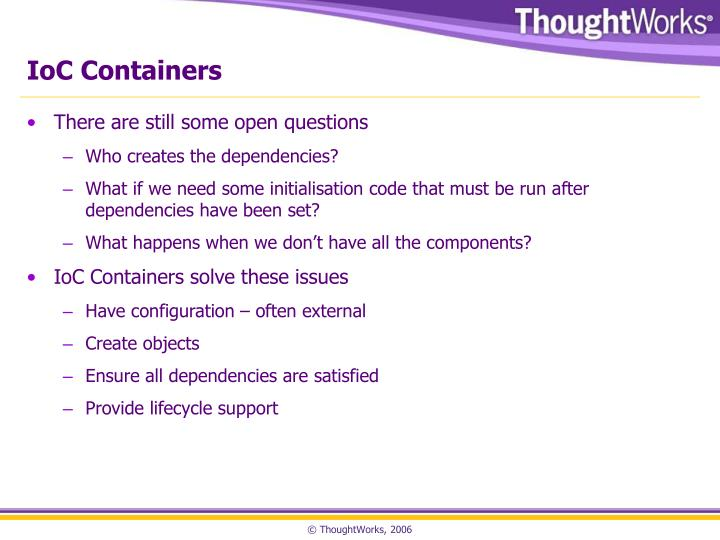 IoC Containers