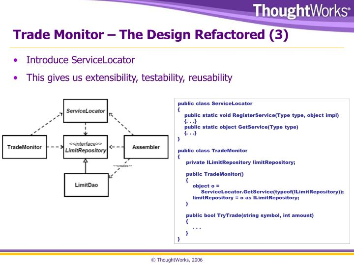 Trade Monitor – The Design Refactored (3)