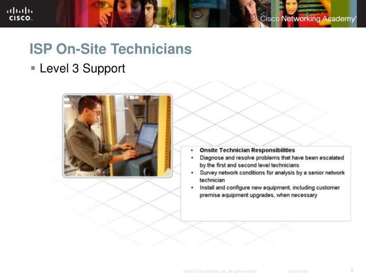 ISP On-Site Technicians