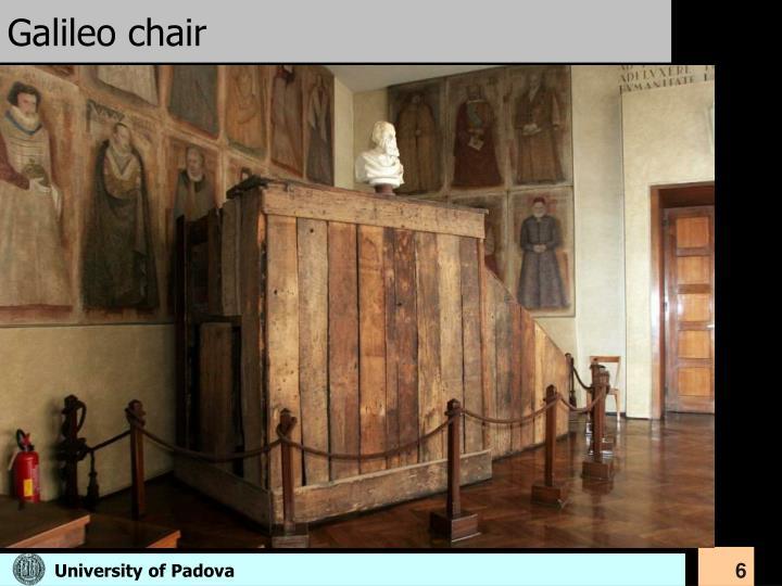 Galileo chair