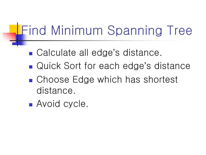 Find Minimum Spanning Tree