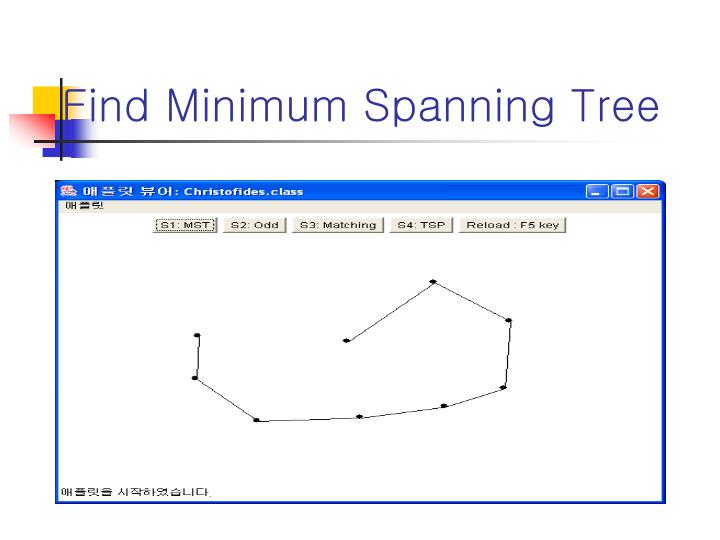 Find Minimum Spanning Tree