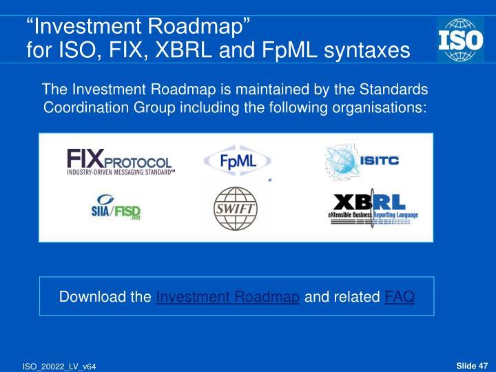 """Investment Roadmap"""