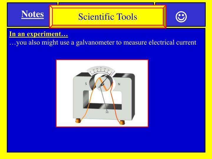 Scientific Tools