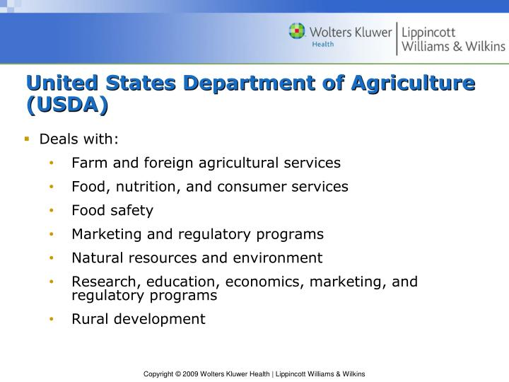 United States Department of Agriculture (USDA)