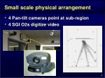 small scale physical arrangement