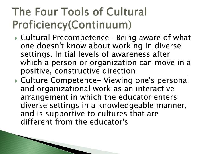 The Four Tools of