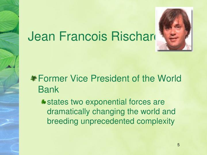 Jean Francois Rischard