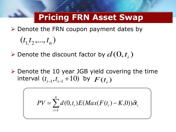 Pricing FRN Asset Swap