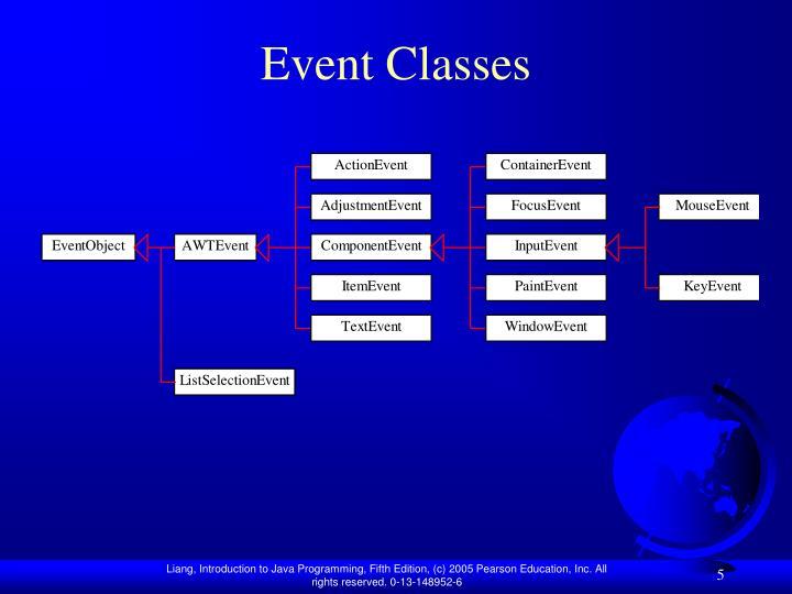 Event Classes