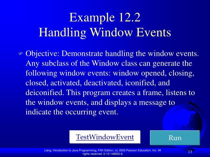Example 12.2