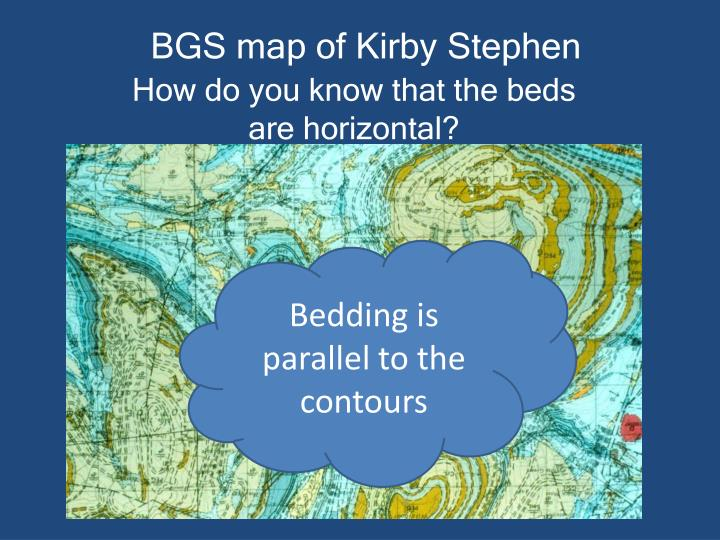 BGS map of Kirby Stephen