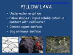 pillow lava