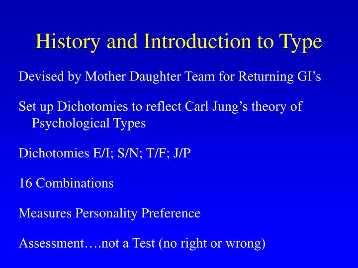 History and Introduction to Type