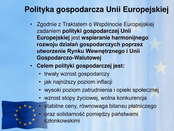 Polityka gospodarcza