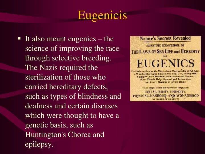 Eugenicis