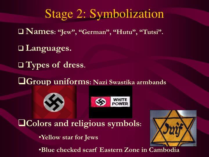 Stage 2: Symbolization