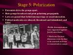 stage 5 polarization