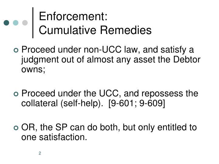 Enforcement: