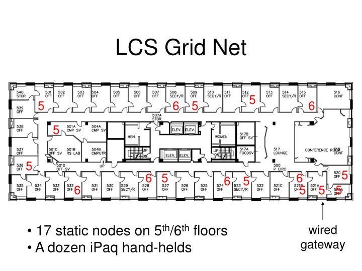 LCS Grid Net