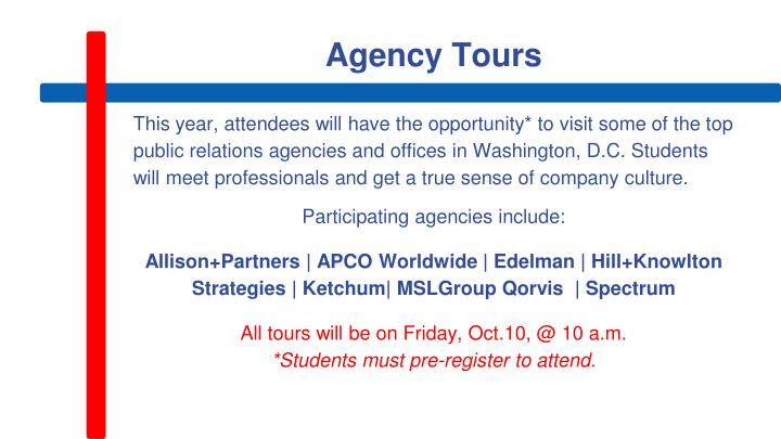 Agency Tours