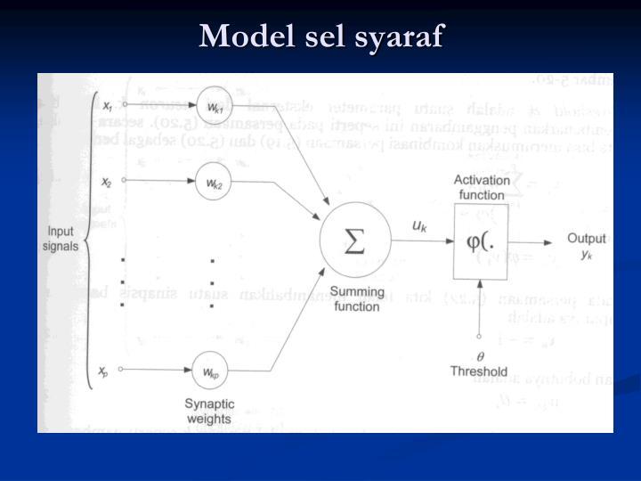 Model sel syaraf