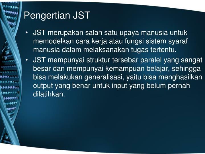 Pengertian JST