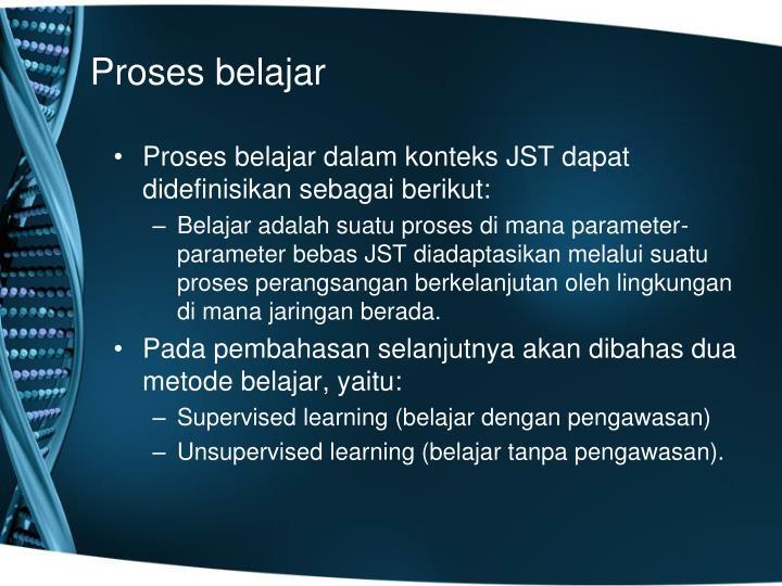 Proses belajar