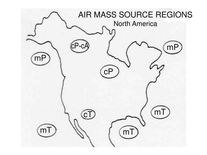 AIR MASS SOURCE REGIONS