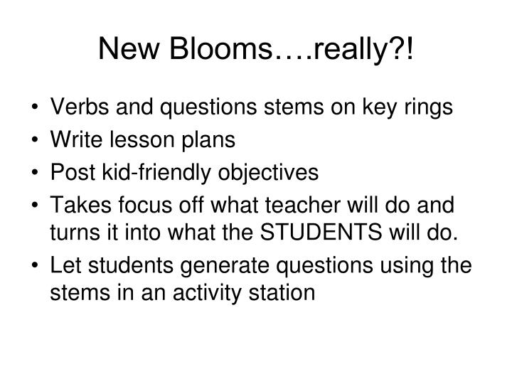 New Blooms….really?!