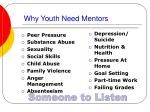 why youth need mentors
