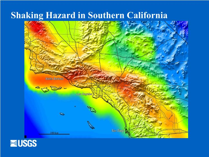 Shaking Hazard in Southern California