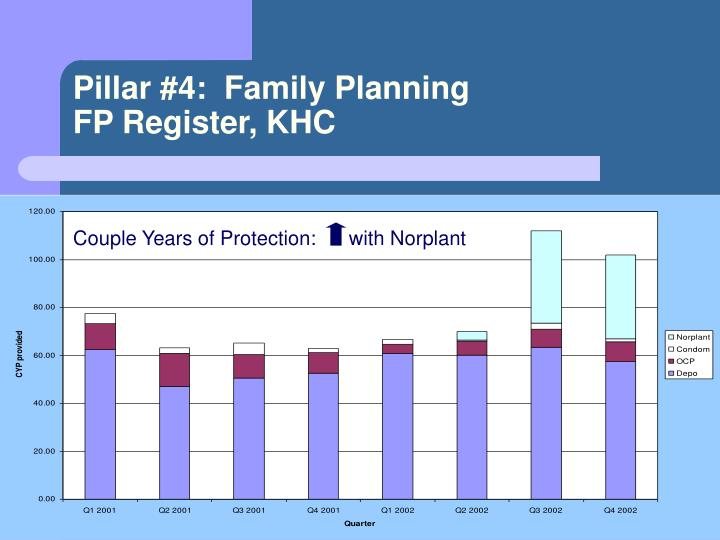 Pillar #4:  Family Planning