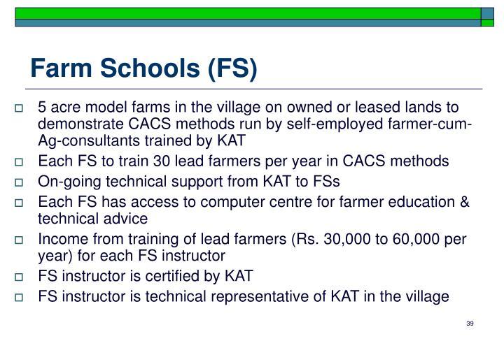 Farm Schools (FS)