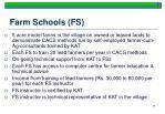 farm schools fs