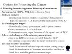 options for protecting the climate4