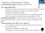 options for protecting the climate5