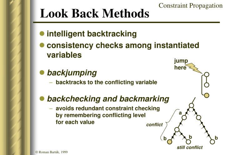 Look Back Methods