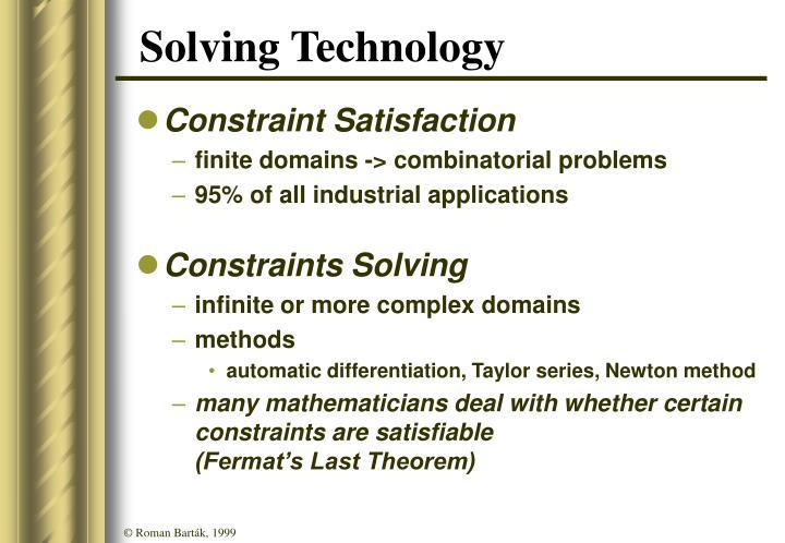 Solving Technology