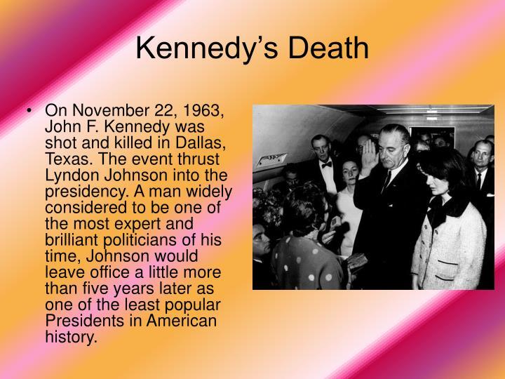Kennedy's Death