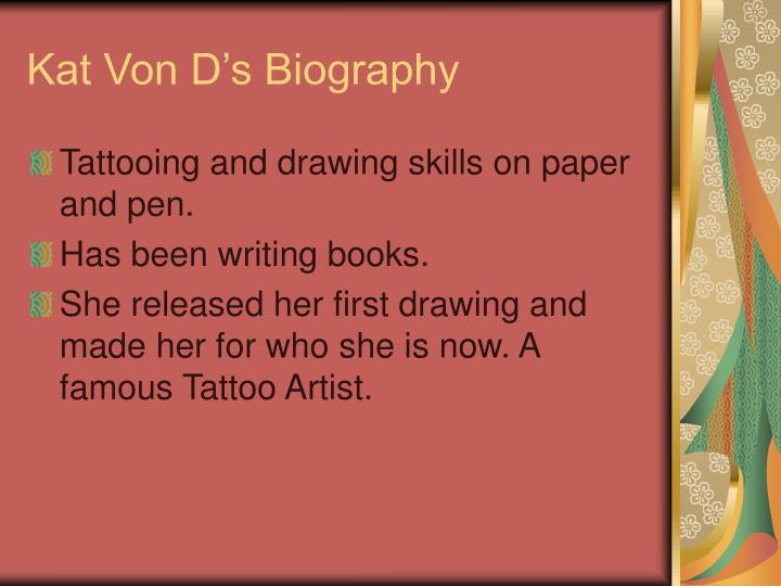 Kat Von D's Biography