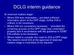 dclg interim guidance1