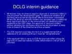 dclg interim guidance2