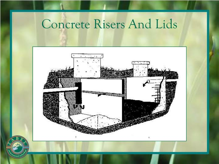 Concrete Risers And Lids