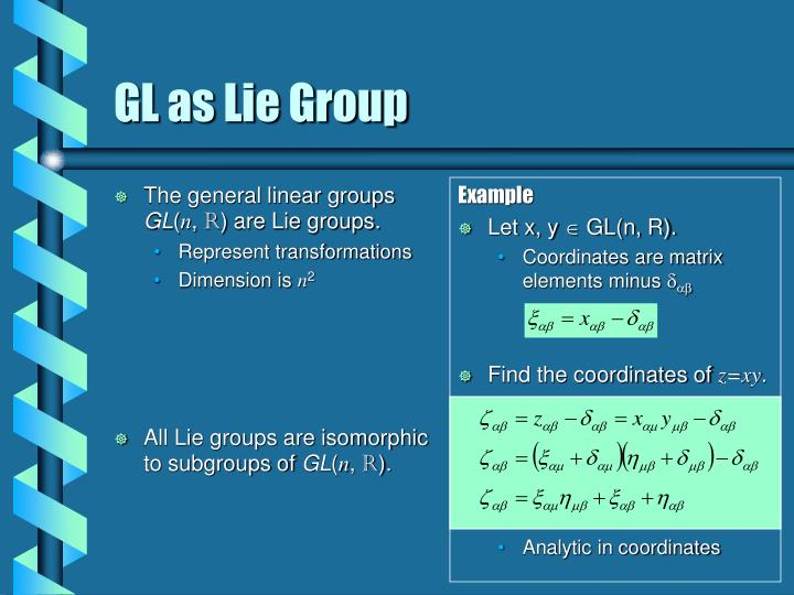 The general linear groups