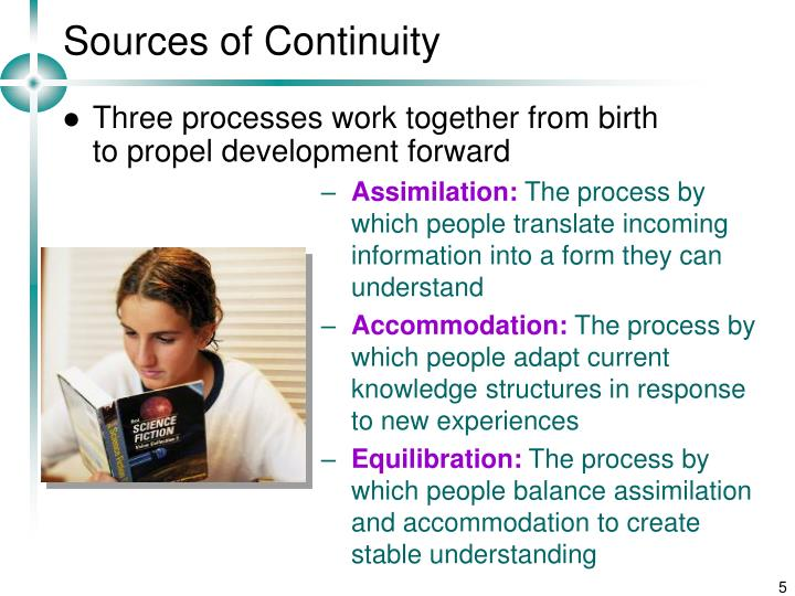 Sources of Continuity