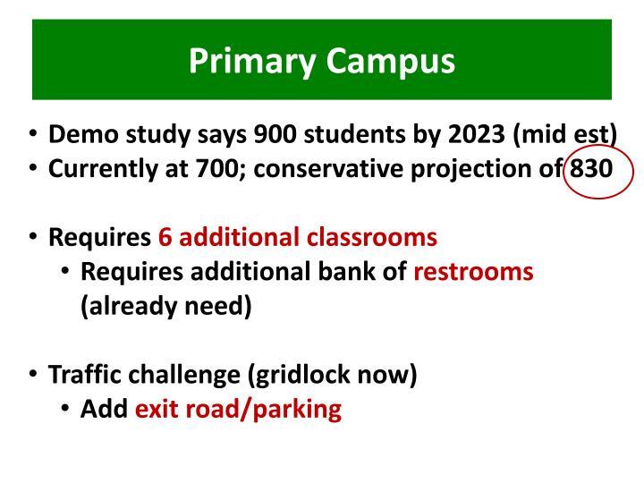 Primary Campus