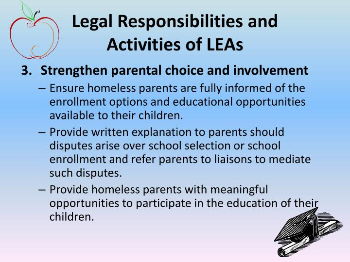 Legal Responsibilities and